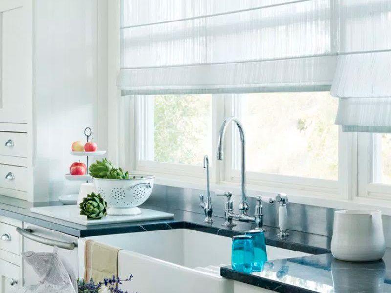 ¿Qué tipo de cortina pongo en mi cocina?