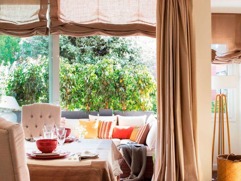Diferentes tipos de tejidos para cortinas