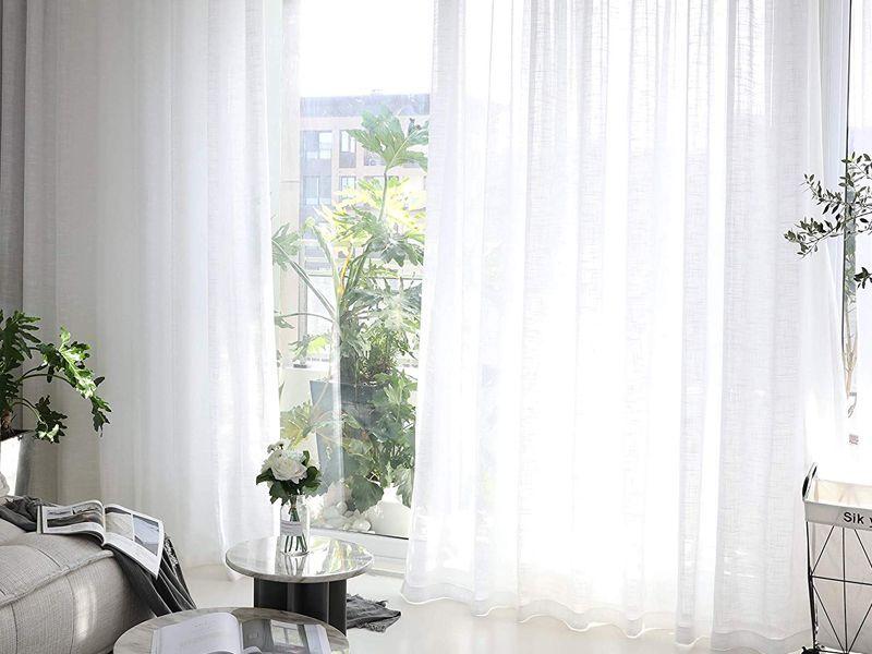 Cortinas blancas: 10 razones para amarlas.