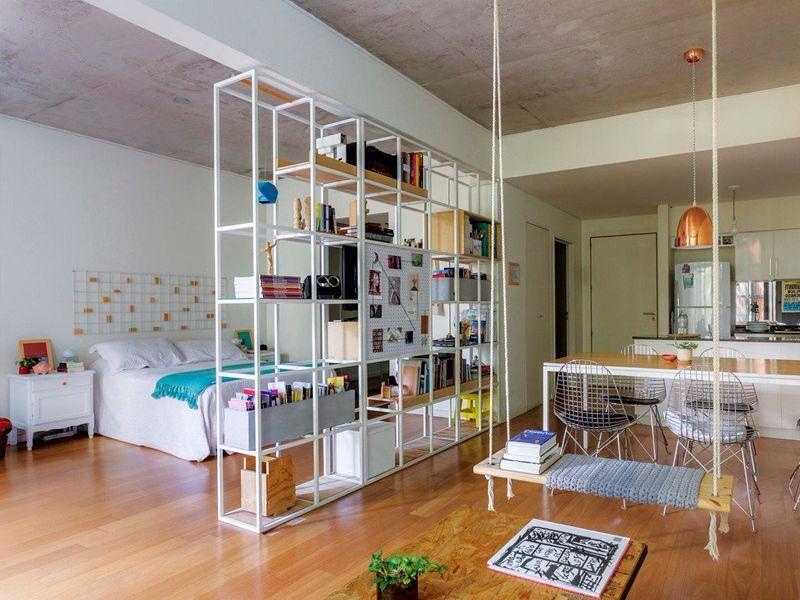 Ideas para separar ambientes sin obra.